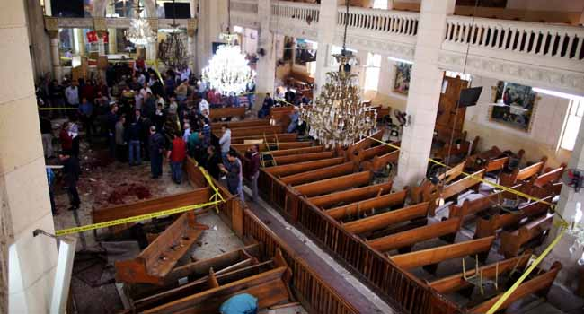 Explosions Hit Egyptian Churches On Palm Sunday
