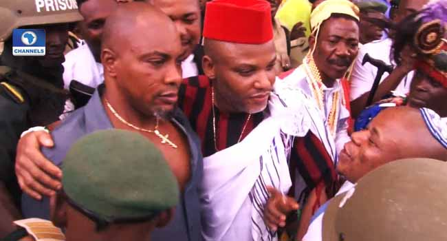 PHOTOS: Nnamdi Kanu In Court