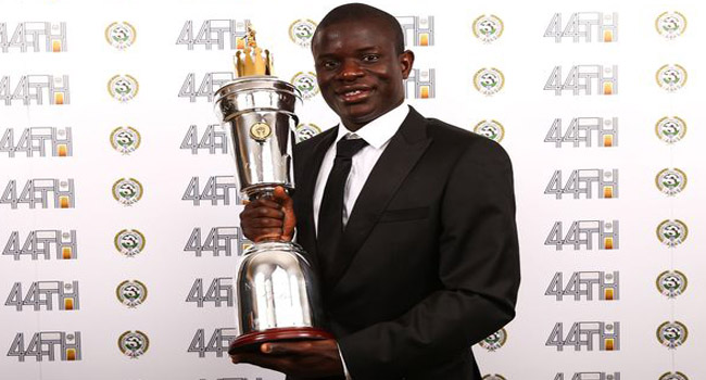 PFA Award A Great Honour, Says Chelsea's Kante