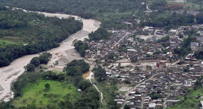 Colombia landslide kills 112, Leaves Many Injured