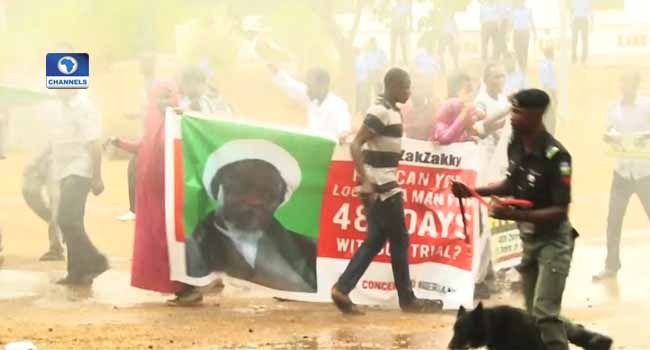 Police again clash with Shi'ite members in Abuja