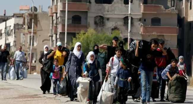Syria Crisis: Thousands Evacuated From Four Besieged Towns