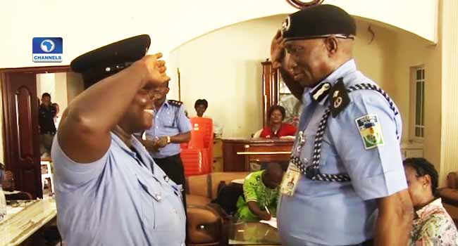 Traffic Warden Promoted To Inspector Rank In Bayelsa