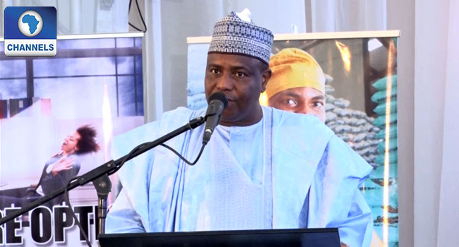 I Have What It Takes To Contest Against Buhari, Tambuwal Replies Tinubu