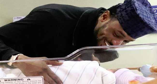 D'banj Celebrates Children's Day With Newborn Son