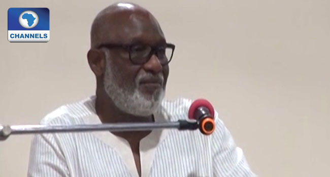 Akeredolu Praises Security Agencies For Kidnapped Judge's Freedom