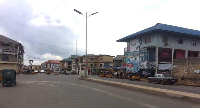 PHOTOS: MASSOB, IPOB's Sit-At-Home Order Disrupt Activities In South East
