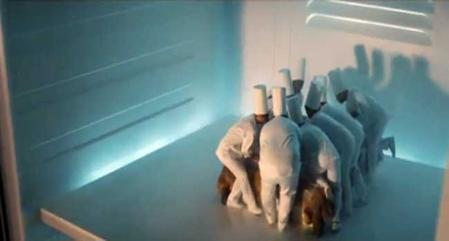 Katy Perry Served Up As Food In New Video