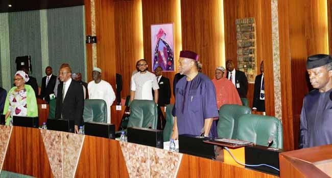 [PHOTOS] Osinbajo Presides Over NEC Meeting