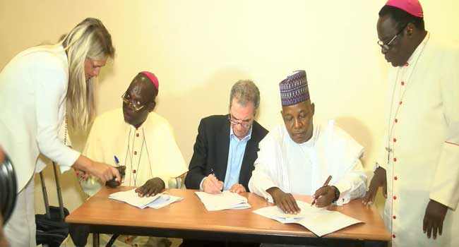 Northern Governors Sign Pact With Catholic Mission To Revive Education