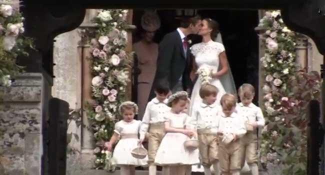 Pippa Middleton Weds James Matthews