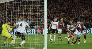 West Ham Defeat Tottenham In League Clash