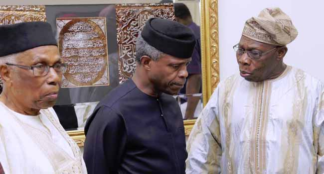 Photos: Osinbajo Attends Forum On Biafra