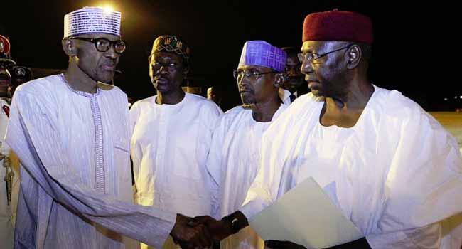 President Buhari Arrives London For Medicals