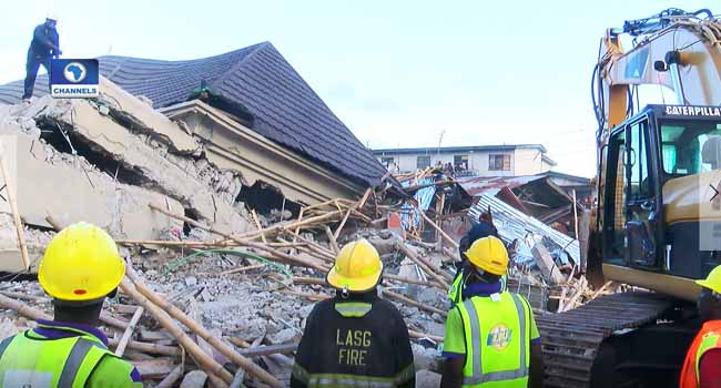 Developers Of Collapsed Building Ignored Stop Work Order – Lagos Govt