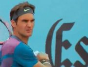 Haas Stuns Federer In First Comeback Match