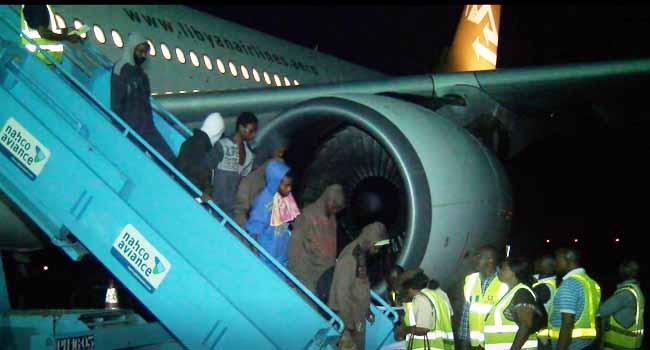 198 Nigerians Sent Back From Saudi Arabia