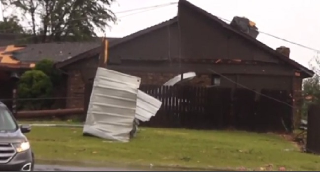 Tornados Hit Texas, Oklahoma And Wisconsin