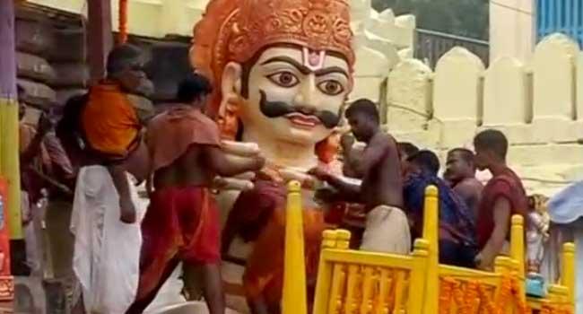 Devotees Celebrate Chariot Festival In India