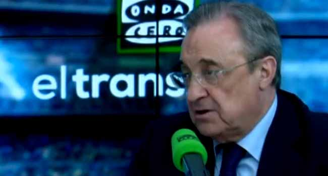 Perez Says Real Madrid Want Reform Of Club Football Competitions