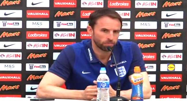 England's World Cup Squad Out On May 16