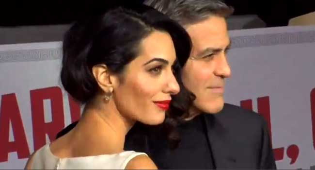 George Clooney Vows To Sue Magazine Over Twins' Photos