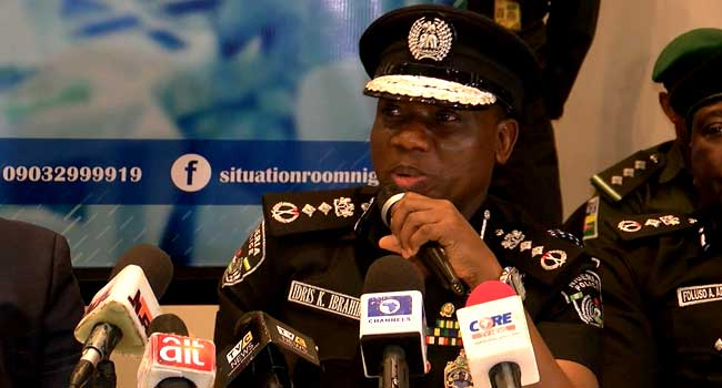 IGP Sets Up Task Force To Enforce Ban On Illegal Firearms Possession