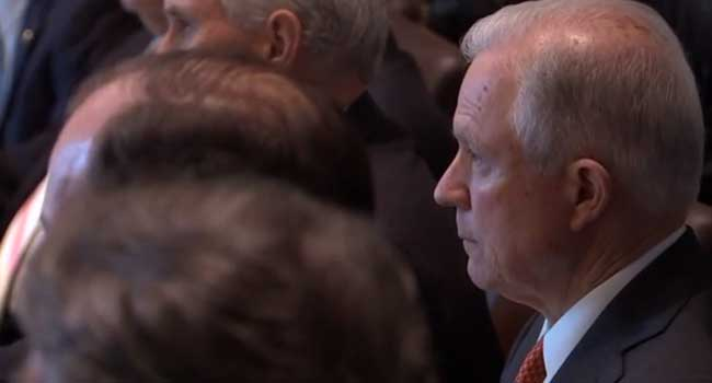 U.S. Attorney General, Sessions To Testify In Public Hearing