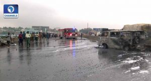 Lagos-Ibadan Expressway Accident, One Dead Several Injured