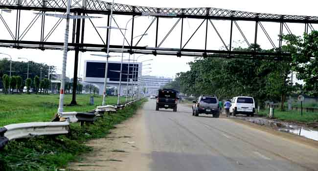[Photos]: Current State Of Lagos International Airport Road