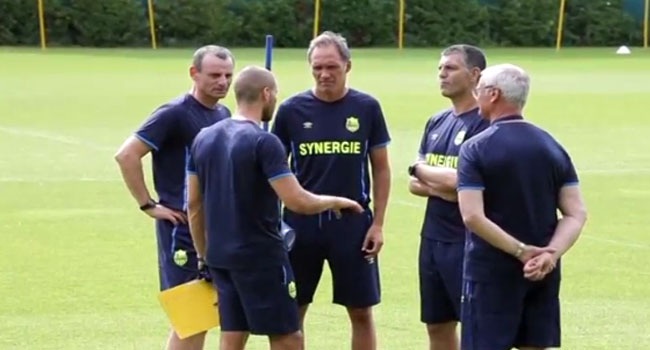 Nantes Kick Off Training With Newly-Signed Ranieri