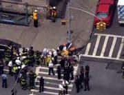 34 Injured As New York City Subway Train Derails