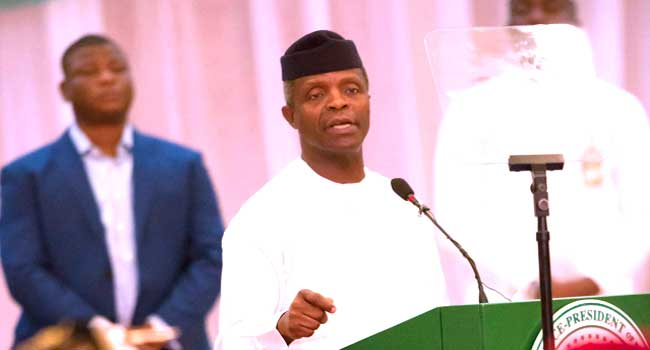 Agitations For Secession, Ultimatum To Igbos Unconstitutional – Osinbajo