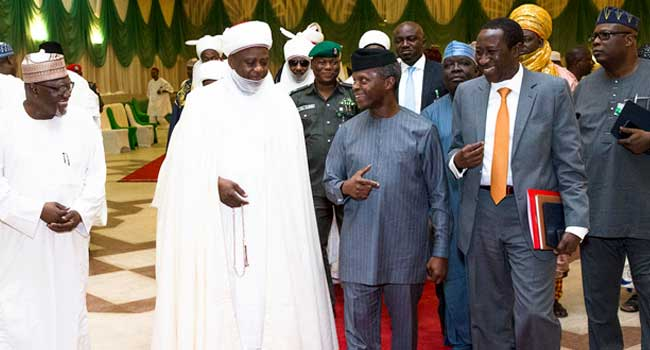Osinbajo Urges Northern Traditional Rulers To Counsel Misguided Youths