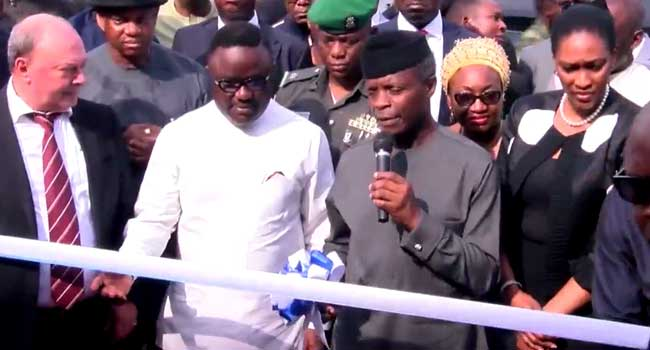 Osinbajo Commissions Garment Factory, Other Projects In Cross River