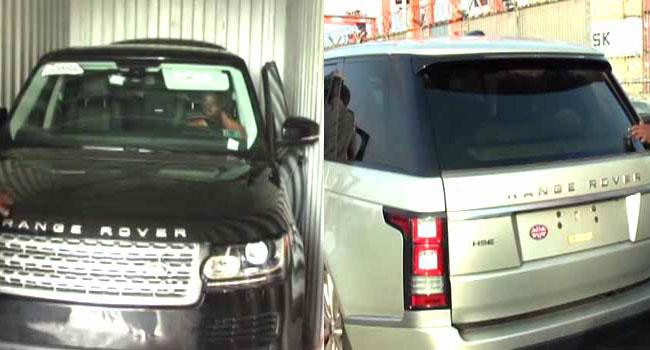 Customs Hands Over Suspected Stolen Vehicles To INTERPOL