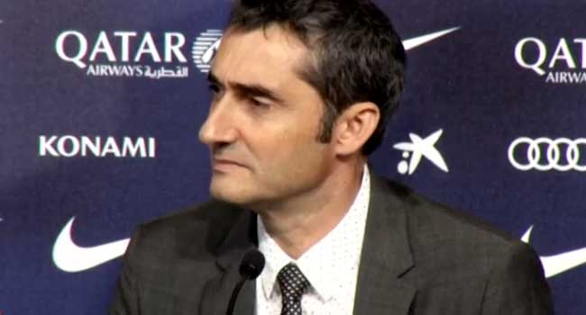 I'm Lucky To Be Messi's Coach, Says Valverde
