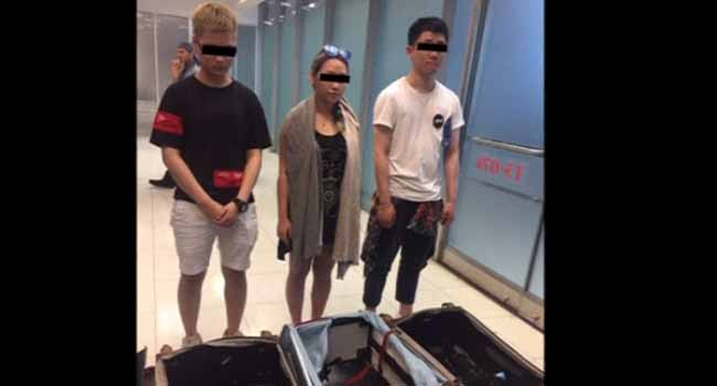 Hong Kong Tourists Arrested In Thailand For Smuggling Cocaine