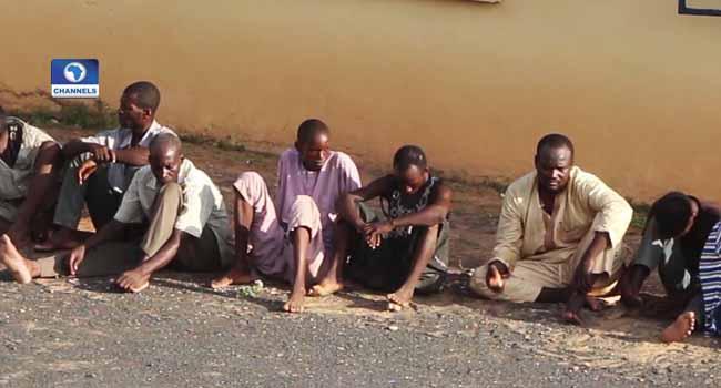 Adamawa Police Parade 23 Suspected Criminals