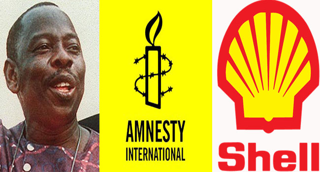 Amnesty, Widow Accuse Shell Of Complicity In Execution Of Ogoni Nine