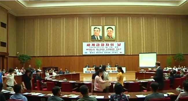 North Korea Marks World Blood Donor Day