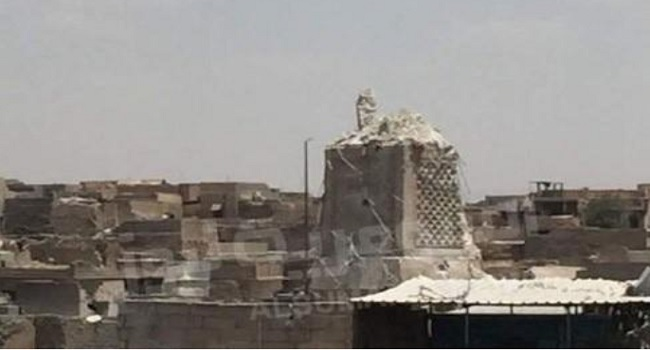 Islamic State Destroys Historic Mosque In Mosul