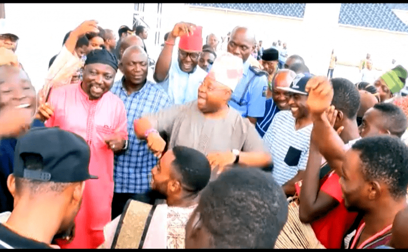 Osun West Bye-Election: PDP's Adeleke Sings, Dances After Victory