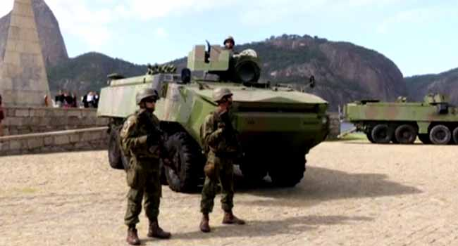 Brazil Deploys Troops in Rio As Crime Surges