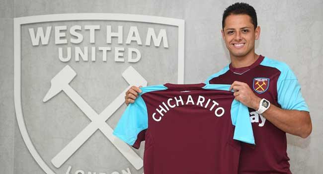 Chicharito Joins West Ham From Bayer Leverkusen