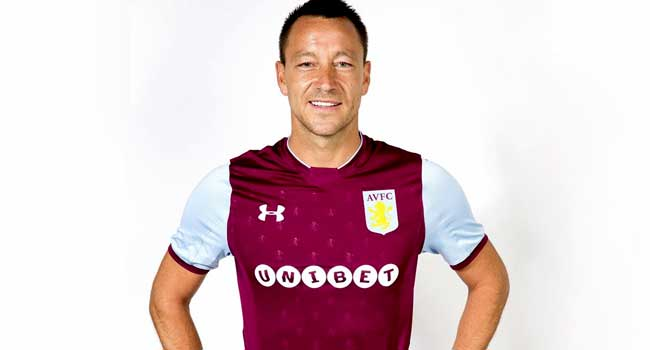 John Terry Named Aston Villa Captain