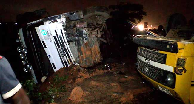 [Updated] Several Feared Dead In Kara Multiple Crash