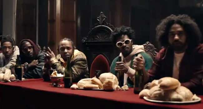 Kendrick Lamar's 'Humble' Video Leads MTV VMA Nominations