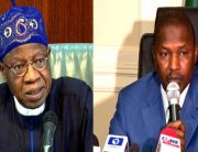 Malami, Lai Mohammed Differ On Senate-Executive Rift