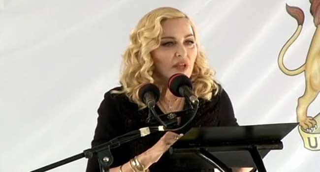 Paediatric Unit: Malawian President Lauds American Singer Madonna